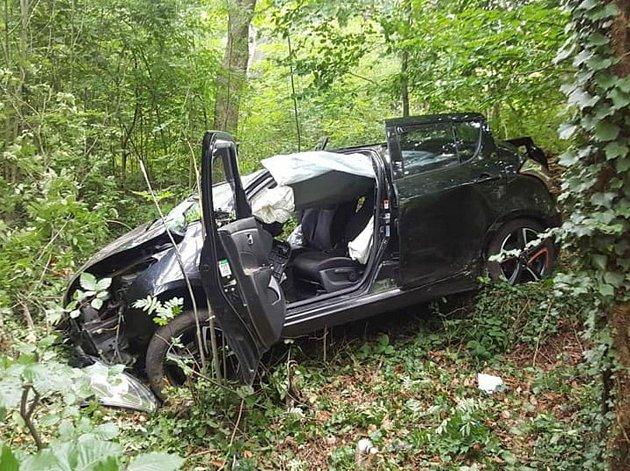 Smrtelná nehoda u Klenčí pod Čerchovem.