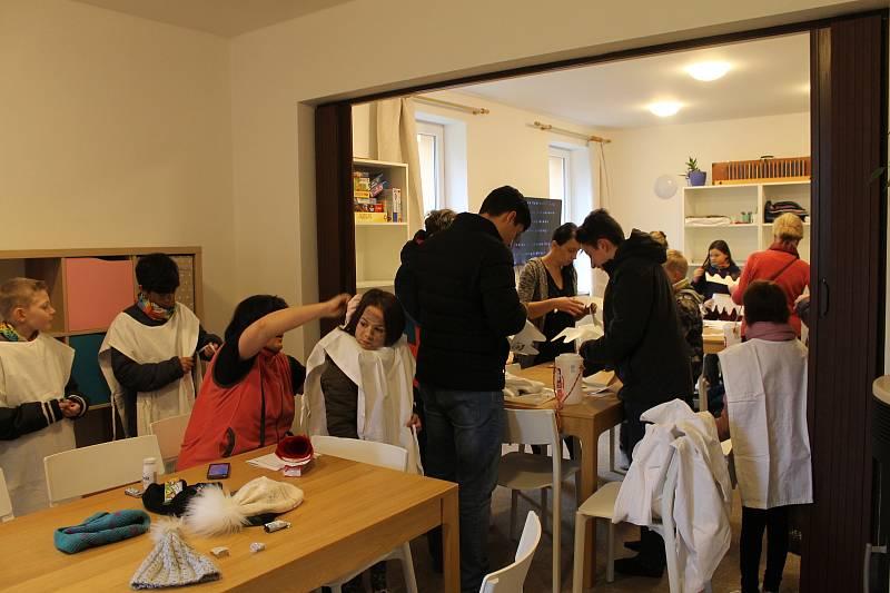 Sbírka byla slavnostně zahájena v pátek 10. ledna v Komunitním centru Horšovský Týn.