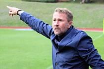 Trenér Pavel Vaigl.