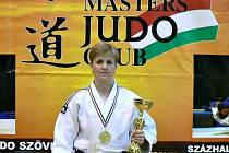Judistka Jaroslava Záhořová vybojovala v Maďarsku mistrovský titul.