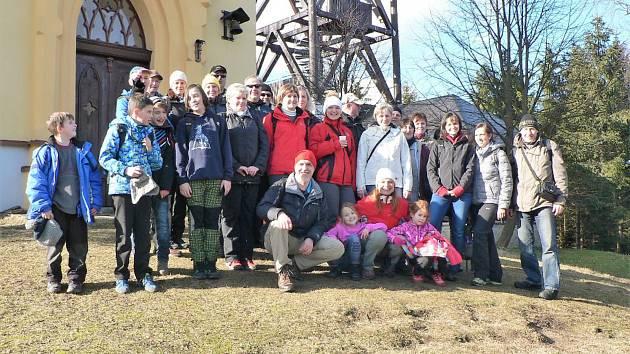 Křenovští podnikli výlet na svatou Markétu.