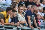 Utkaní 4. kola fotbalové FORTUNA:LIGY: MFK Karviná - SK Slavia Praha, 4. srpna 2019 v Karviné. Na snímku fanoušci.