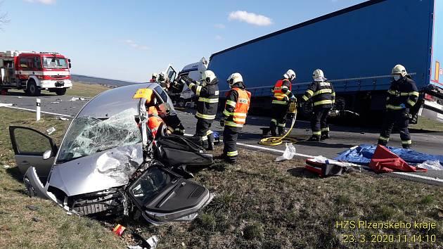 Nehoda u Vidic.