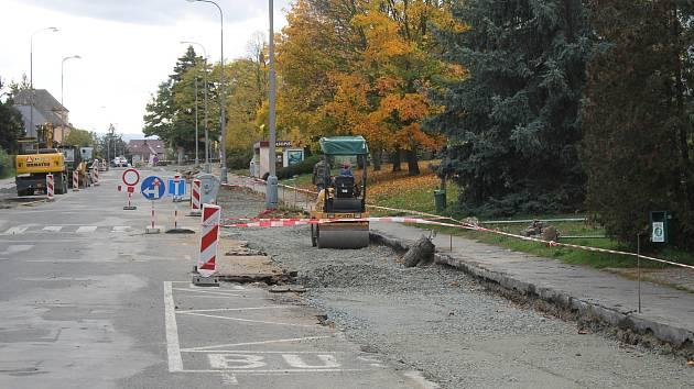Z rekonstrukce Mánesovy ulice