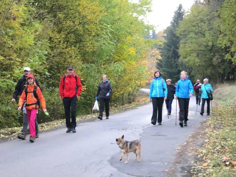 Podzimní procházka.