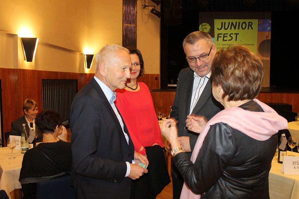 Starosta Domažlic Miroslav Mach s Jan Pirkem.