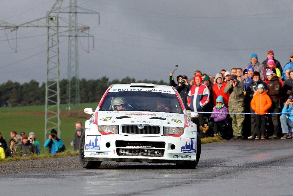 Domažlické posádky na Rally Příbram.