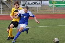 Marek Falout z FC Dynamo Horšovský Týn.