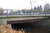 Most v ulici E. Krásnohorské