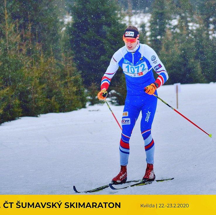 Kouřík bral z Skimaratonu bramborovou medaili.