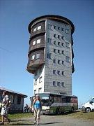 Armádní věž na Čerchově.