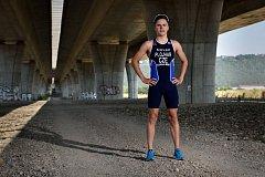 NADĚJE ČESKÉHO TRIATLONU. Tomáš Plojhar z Domažlic patří k velkým talentům českého triatlonu.