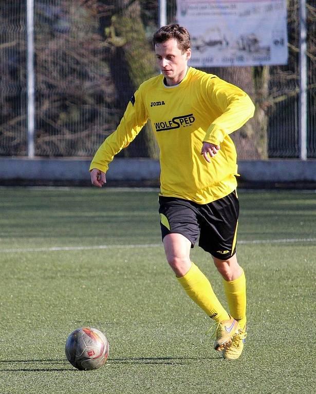 Pohárový duel fotbalistů Sokola Mrákov a Jiskry Domažlice B.