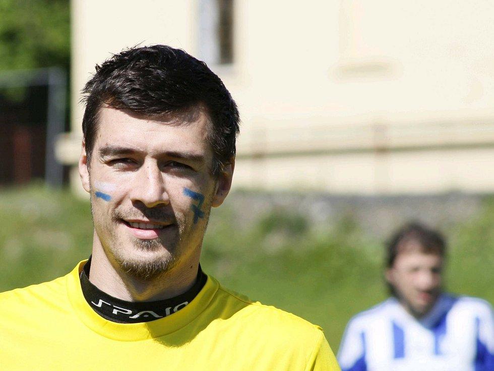 """Benefice """"Fotbalem pro Jirku Šámala""""."""