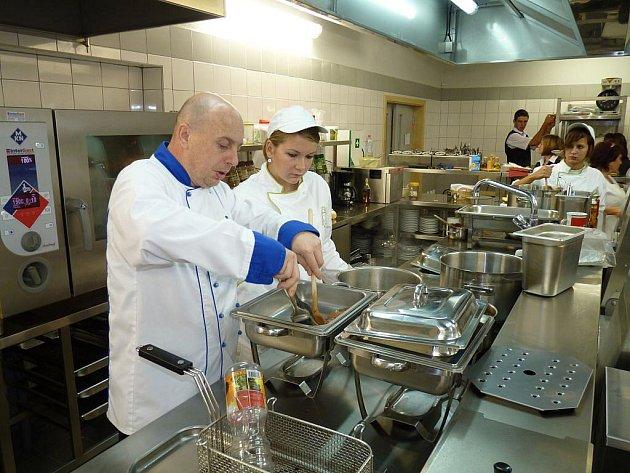 Nově otevřený školní penzion v Horšově.
