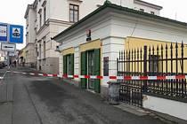 POBOČKA KOMERČNÍ BANKY ve Kdyni.