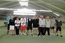 Z prvního turnaje tenisové Dotiko Tour ve Waldmünchenu.