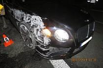 Páteční nehoda u Loučimi.