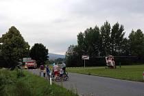 Ke smrtelné dopravní nehodě došlo dnes odpoledne ze Hamrem ve směru na Trhanov.