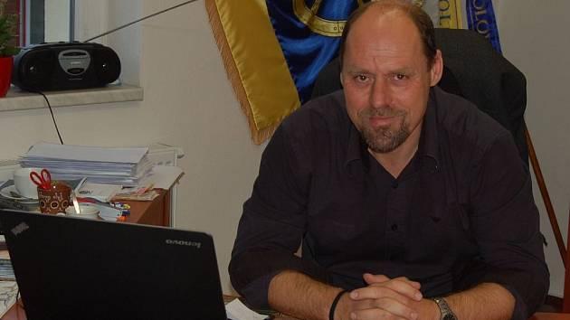 Starosta Kolovče Václav Pergl