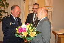 Petr Ouřada získal stříbrnou pamětní medaili města Domažlice.