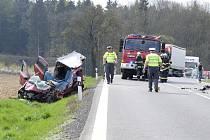 Smrtelná nehoda u Spáňova.