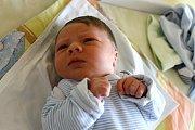 Ondřej Záhoř z Nového Pařezova se narodil 24. března ve 13:28 v domažlické nemocnici s váhou 3 190 gramů a 49 centimetry.