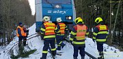 Nehoda vlaku u České Kubice