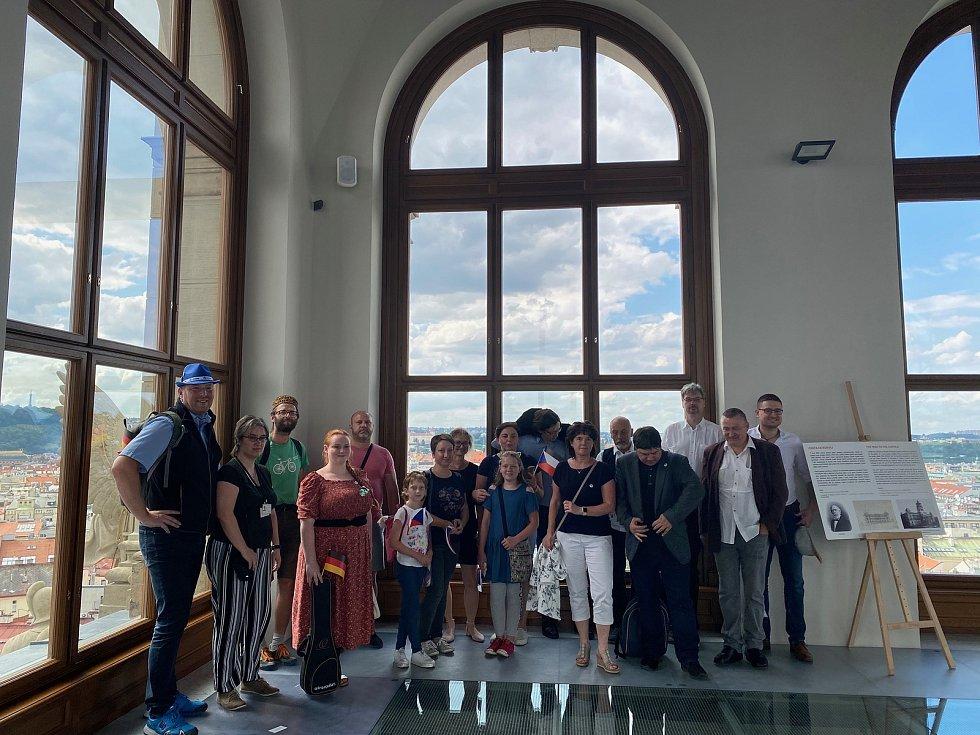 Setkání v Národním muzeu.