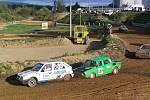 Fotogalerie z předposledního rallyekrosového závodu na domažlické trati.