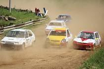 Třetí závod rallykrosového seriálu Chodský čakan v Domažlicích.