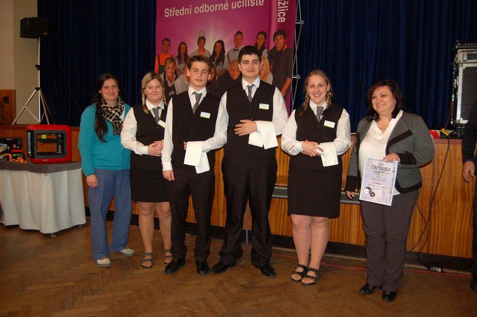 Vítězný tým ze Sokolova.