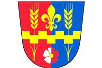 Znak obce Horní Kamenice.