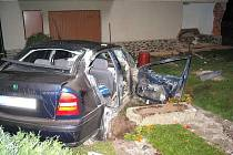 Dopravní nehoda v Horšovském Týně.