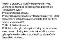 Poplašná zpráva v Horšovském Týně. Jde o trestný čin.