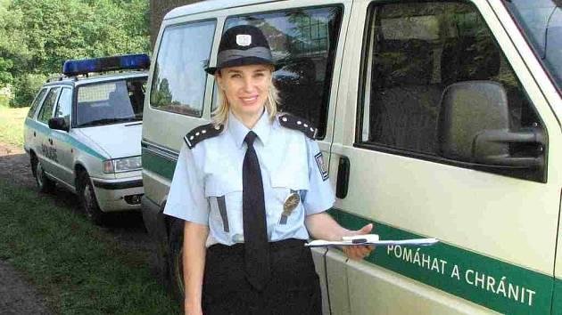 Domažlická policejní mluvčí Vladislava Čejková.