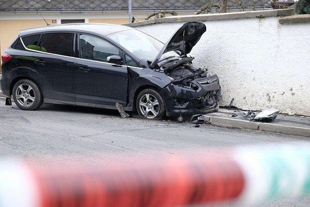 Smrtelná nehoda v Jiráskově ulici v Domažlicích.