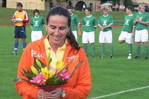 Dagmar Damková byla v Domažlicích. Foto: Jiří Pojar