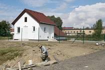 Čistírna odpadních vod v Černovicích.