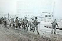 Vzpomínání na listopadové události 1989 ve Kdyni.