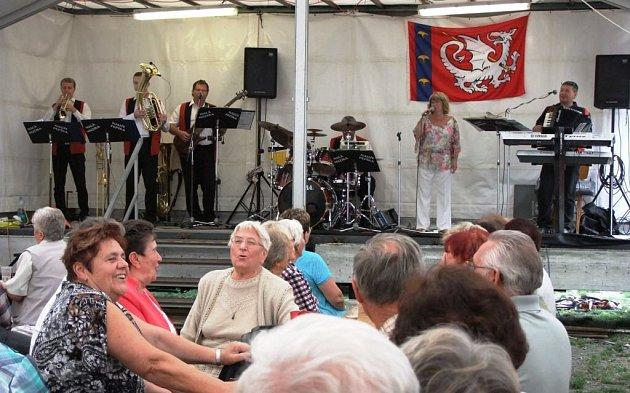 Oslavy 500 let v Koutě na Šumavě.