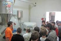 Exkurze ve Staňkovské pekárně.
