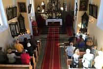 Svatováclavská poutní mše svatá v Chodské Lhotě.