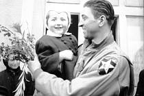 Konec druhé světové války ve Kdyni. Foto: archiv Muzea příhraničí