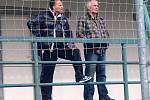 Fotoreportáž z utkání fotbalistů Jiskry Domažlice v Příbrami proti výběru místního 1. FK.
