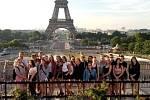 Žáci zdravotnické školy se vydali na výlet do Paříže.
