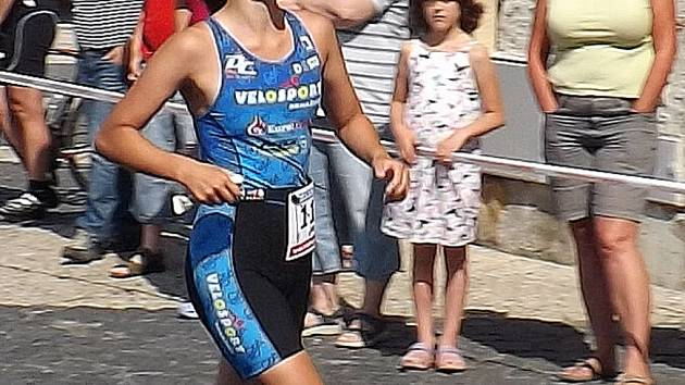 Domažlická triatletka Jana Brantlová.
