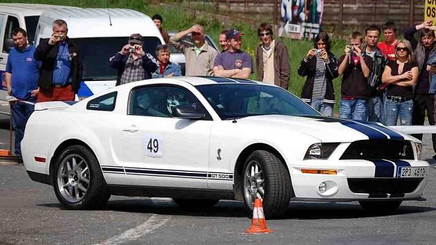 Karel Lehmann ml. dojel s Fordem Mustang Shelby na šestém místě v absolutním pořadí.
