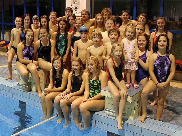 Vánoční svíčka 2011 plaveckého oddílu TJ Jiskra Domažlice.