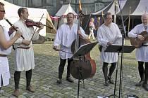 Meluzíni při vystoupení v Konstanz.